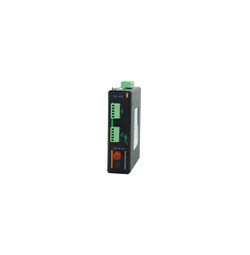 1路RS422+1路RS485工业串口光端机