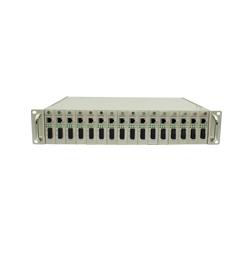 16槽光纤收发器机架