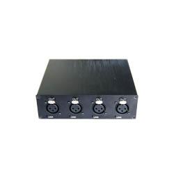 4路卡侬头(XLR)音频光端机