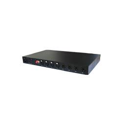 4路双向卡侬头(XLR)音频光端机